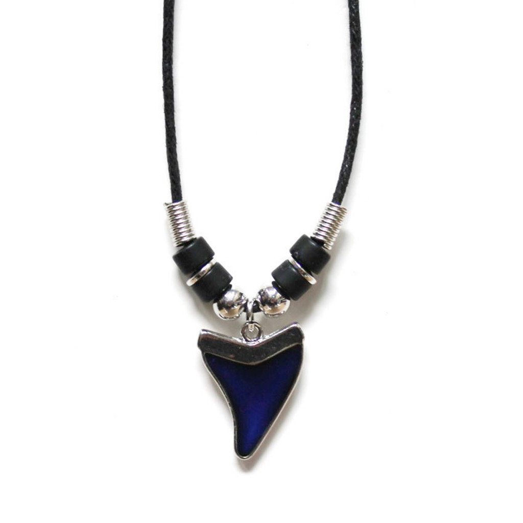 Shark Tooth Mood Necklace