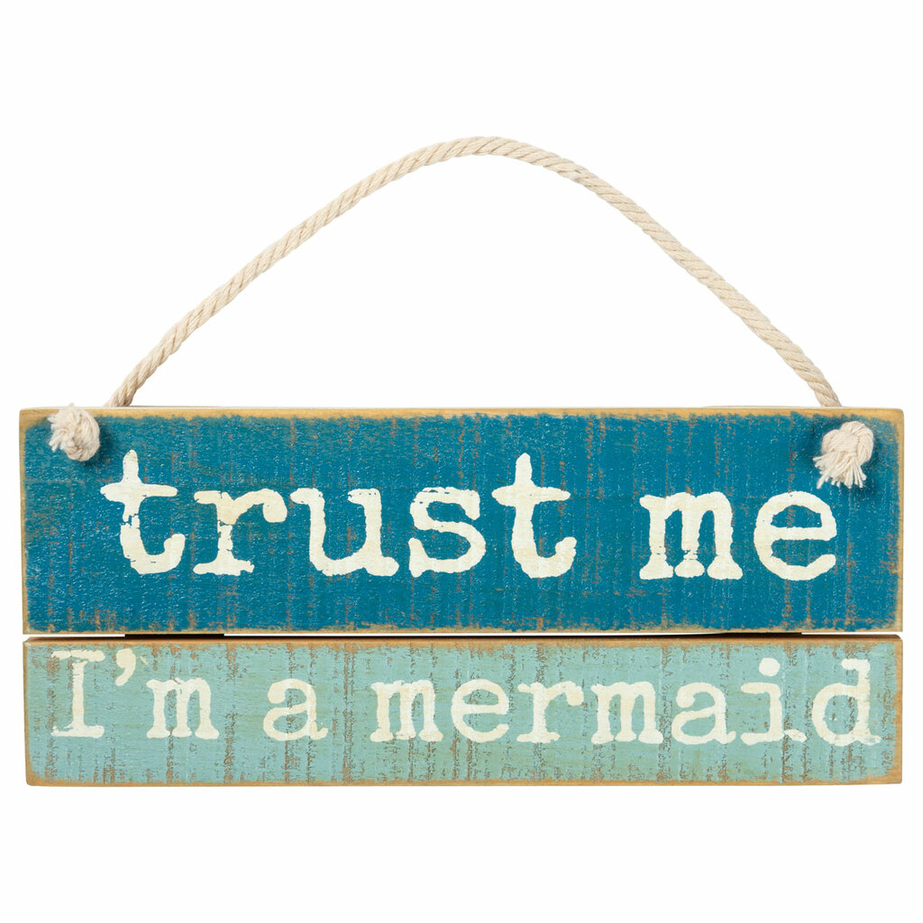 Trust Me I'm a Mermaid Ornament