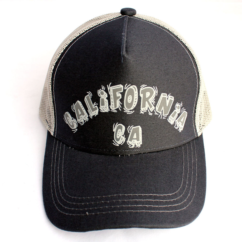 CA Black & Gray Hat