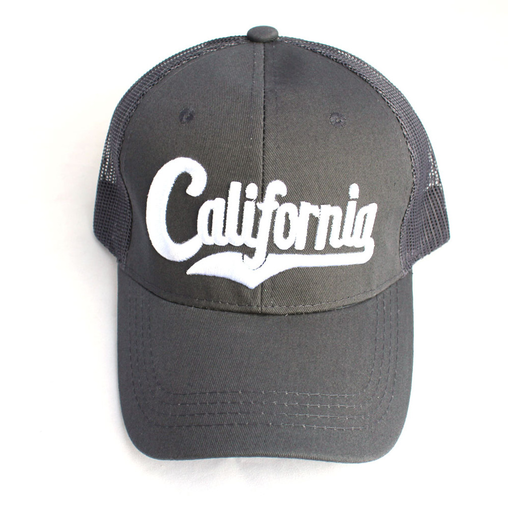 Dark Gray California Hat
