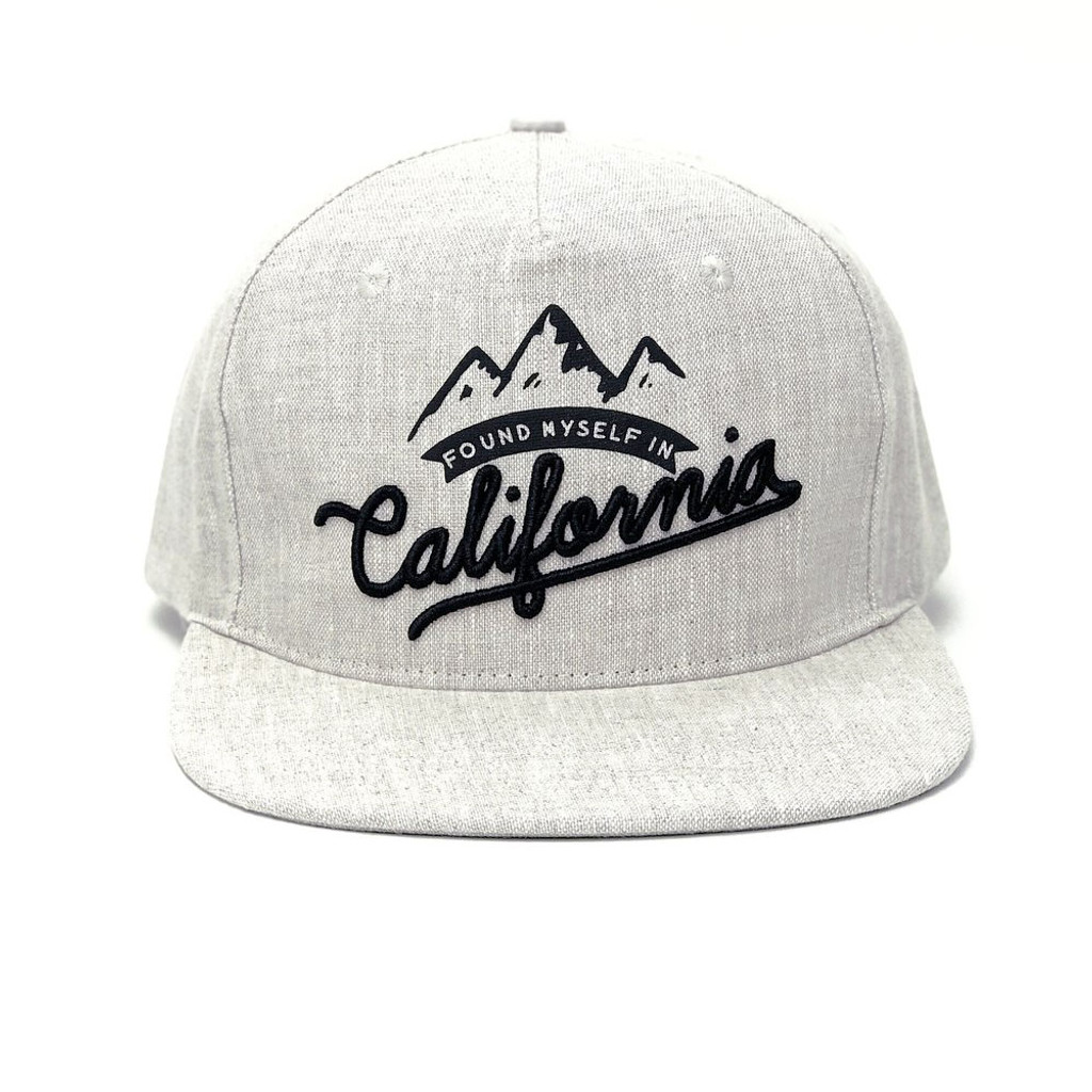 Found Myself California Ivory Hat