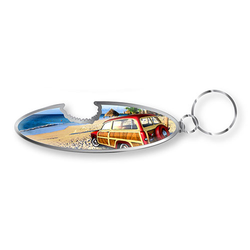 Woody Keychain Bottle Opener