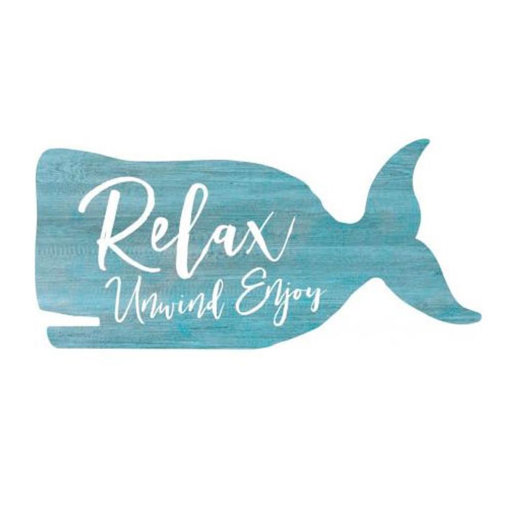 Relax, Unwind, Enjoy Whale