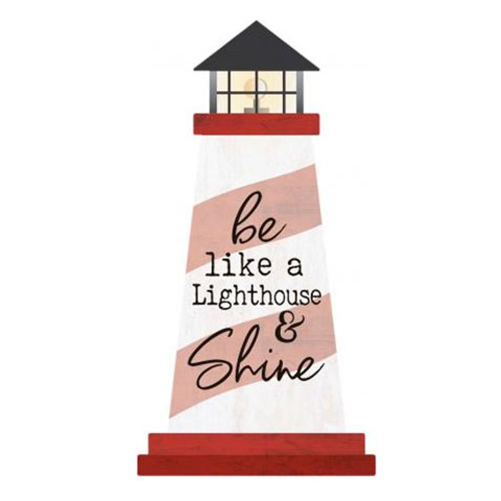 Shine Lighthouse Sign