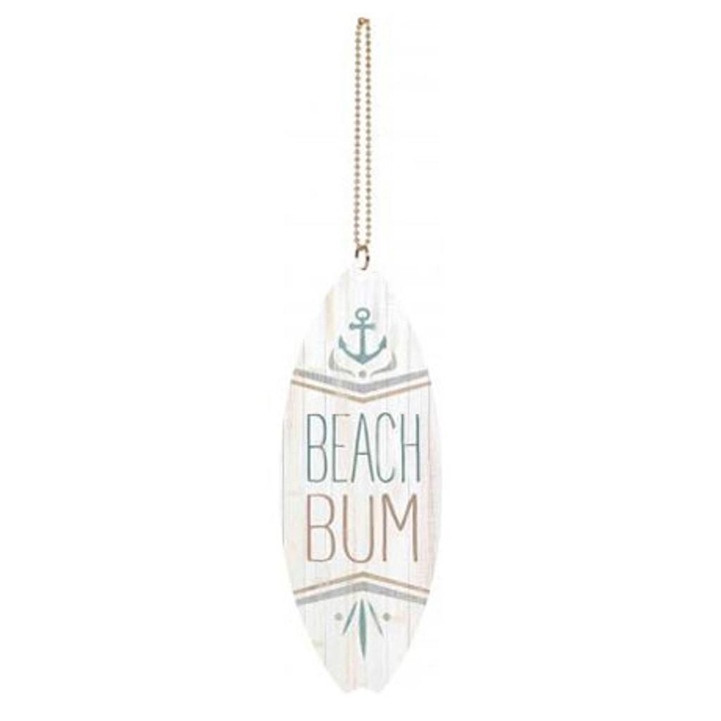 Beach Bum Car Charm