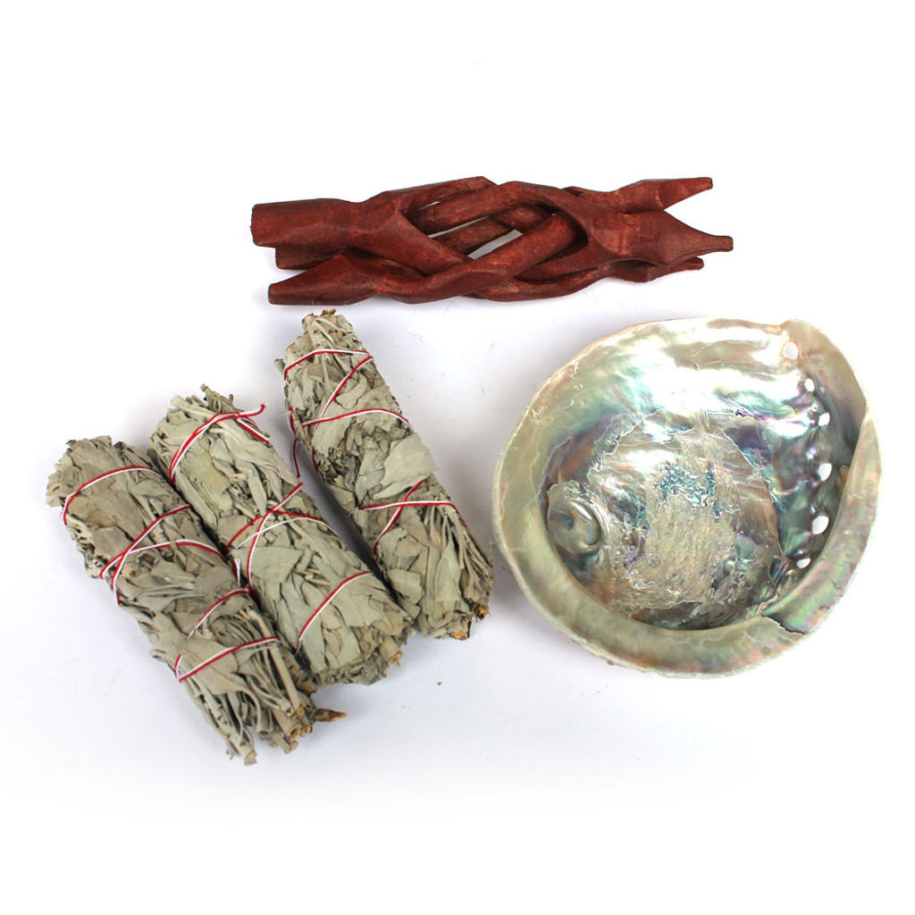 South African Abalone Smudge Kit