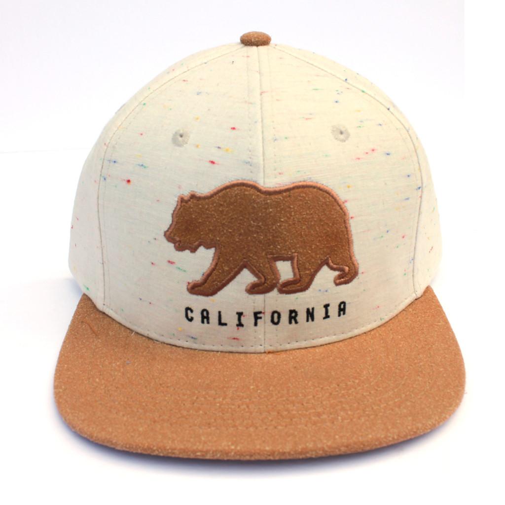 Ivory Cali Bear Hat