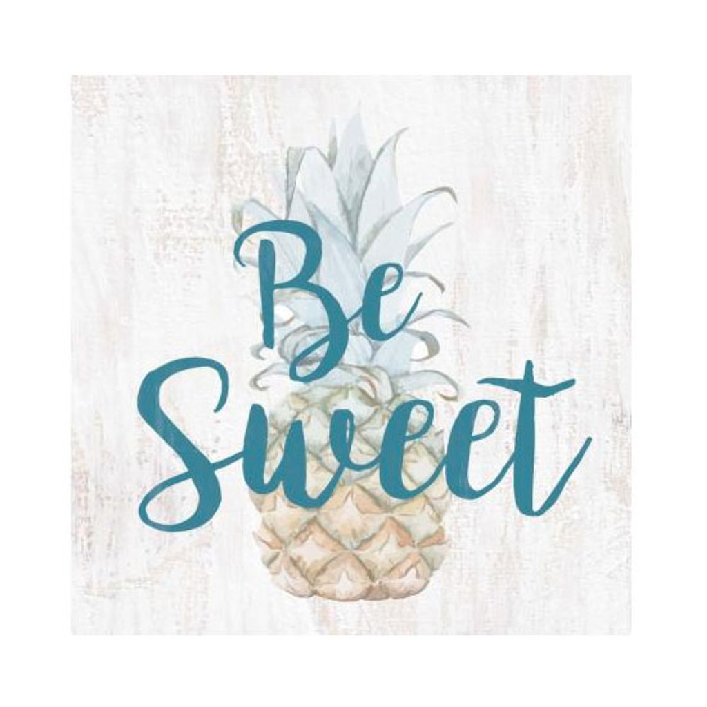 Be Sweet Pineapple Small Block Sign
