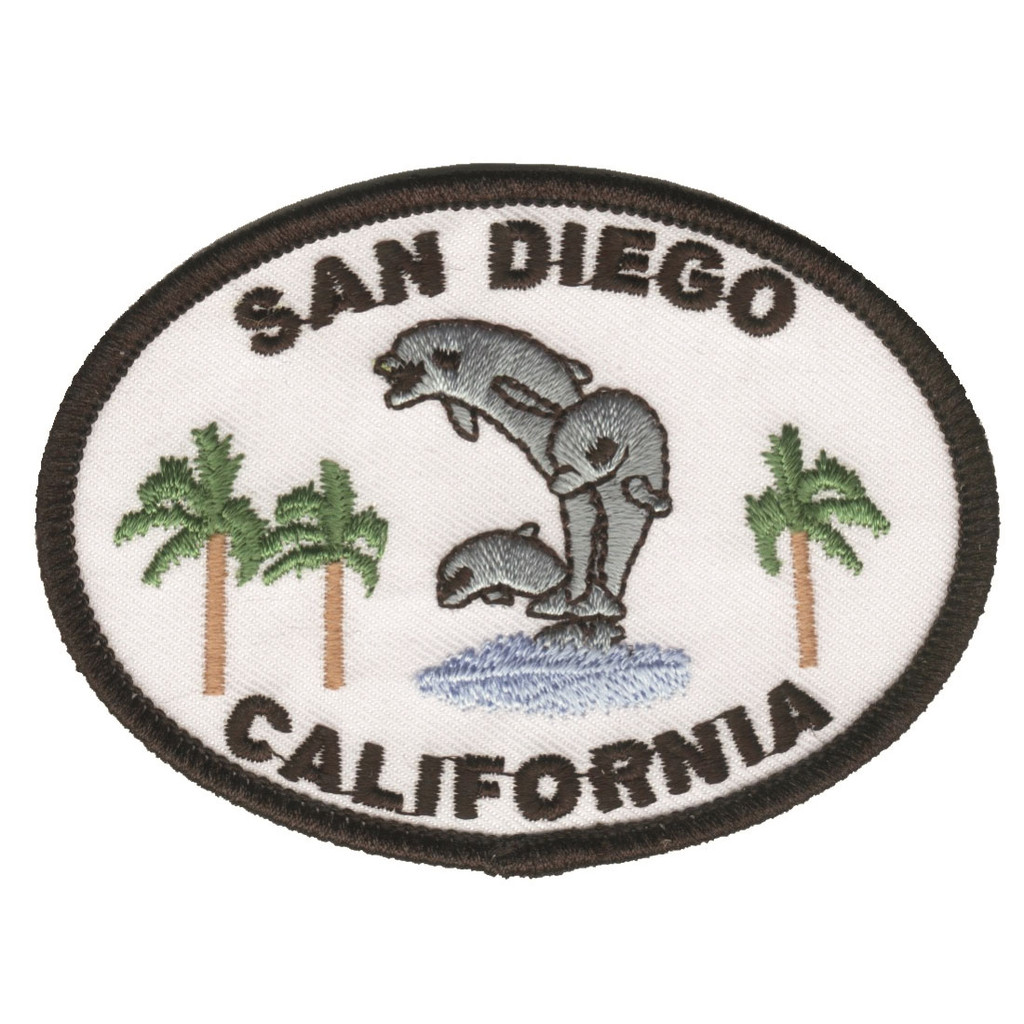 San Diego Jumping Dolphins Patch