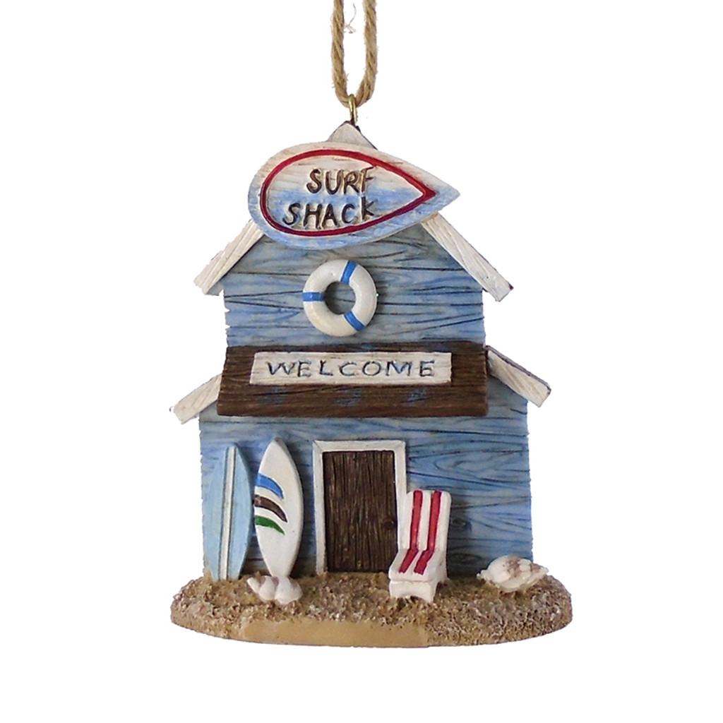 Surf Shack Ornament