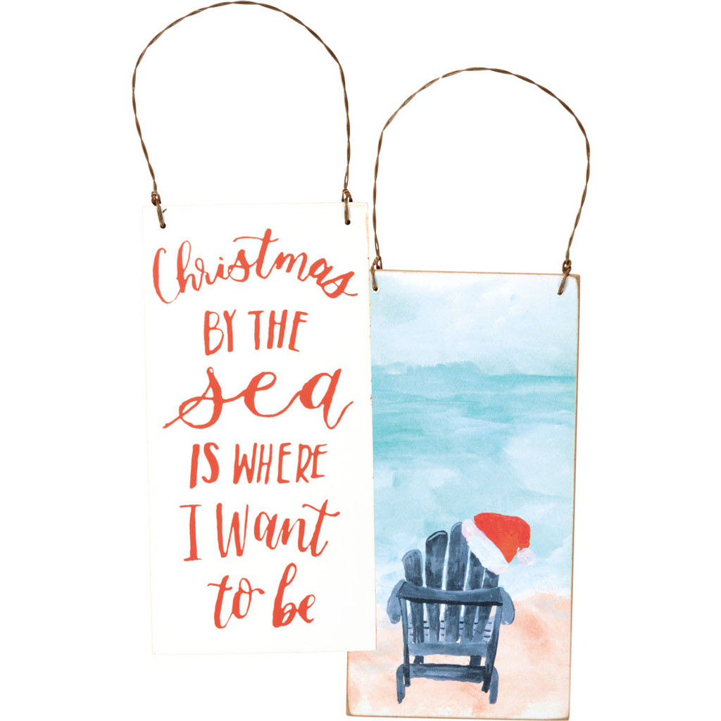Christmas By the Sea Ornament