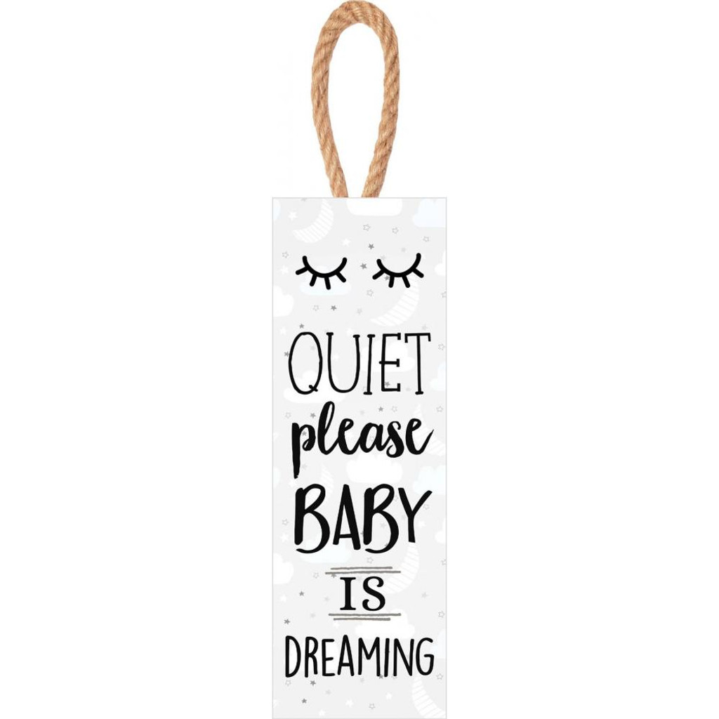 Quiet Please Baby is Dreaming Sign