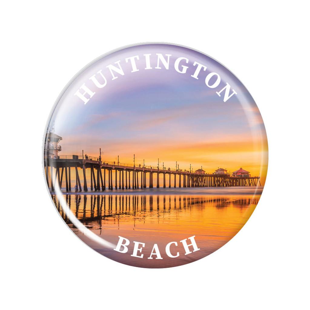 Huntington Beach Pier Magnet