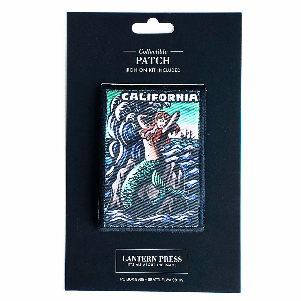 California Mermaid Patch