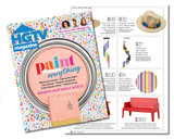 Rainbow Capiz Chimes Featured in HGTV Magazine