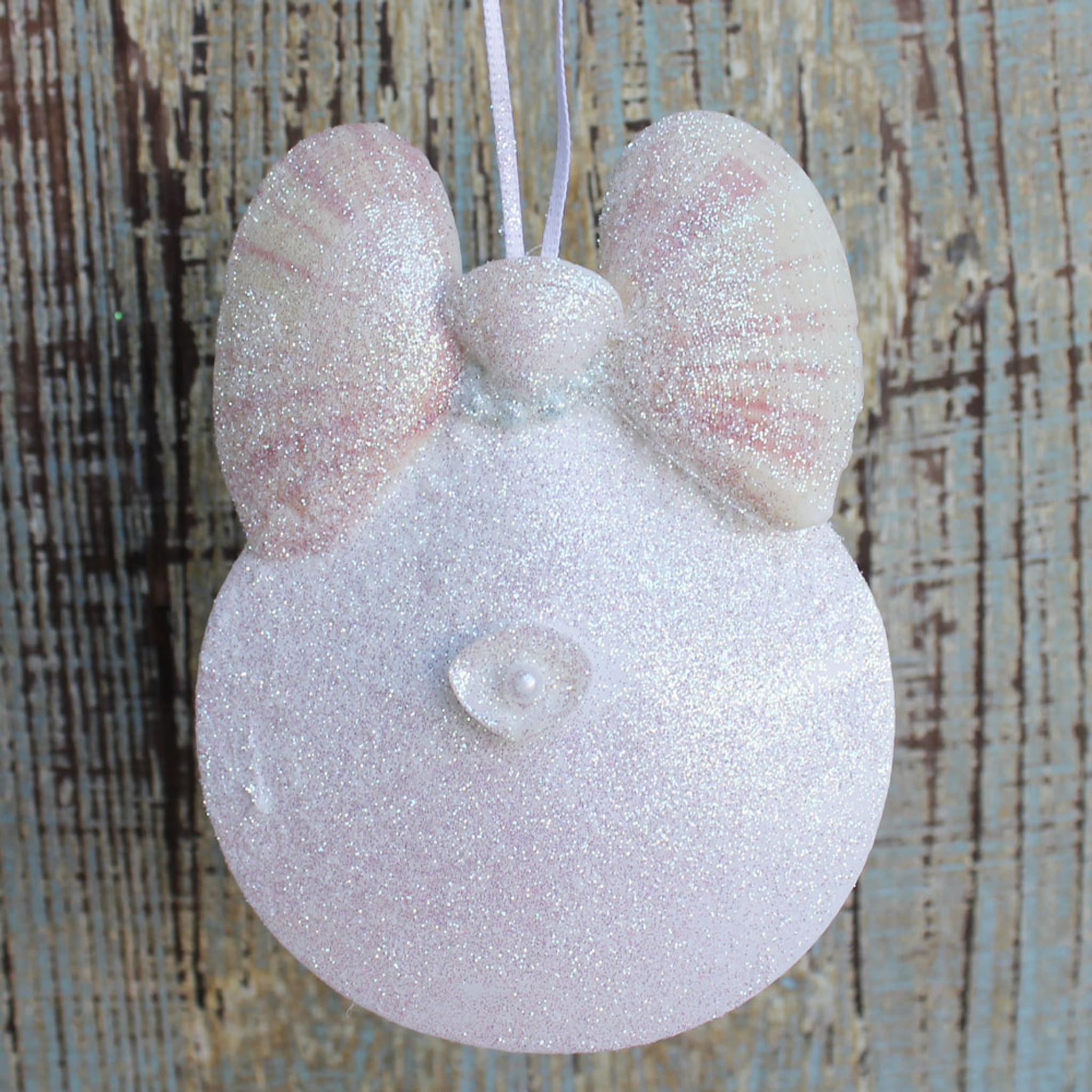 Angel Seashell Ornament