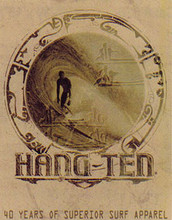 Hang Ten Good Fortune Metal Sign