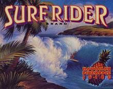 Surfrider Brand Metal Sign