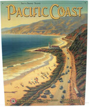 Pacific Coast Metal Sign