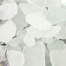 White Sea Glass