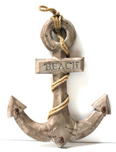 Wood Anchor with Hooks