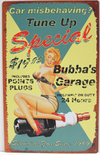 Tune Up Special Metal Sign