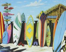 Surf Shack Surfboards Metal Sign
