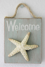 Starfish Welcome Sign