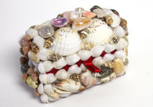 Tiny seashell treasure chest