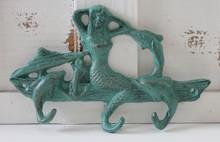 Mermaid and Dolphin Hook