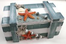 Nautical Box with Fish Net