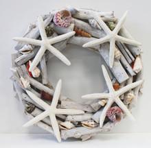 Driftwood Starfish Wreat