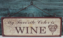 My favorite color is WINE