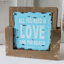 All you need is LOVE at the Beach