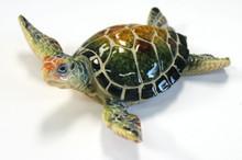 Green Turtle Figure