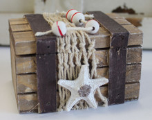 Nautical Wood Chest