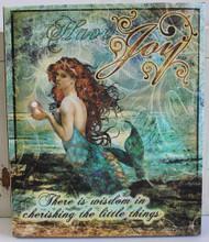 Have Joy Mermaid Canvas