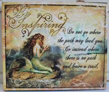 Inspiring Mermaid Canvas