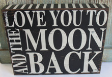 Love You to the Moon and Back with Stripes