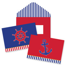 Nautical Chic Note Cards