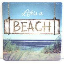 Life's a Beach Coaster