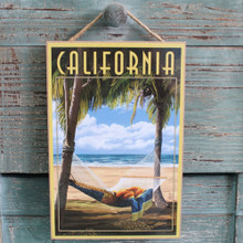 Hammock in Palm Trees California