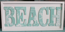 Beach Word Plaque