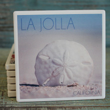 La Jolla Sand Dollar Coaster