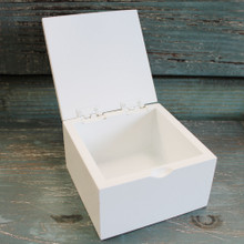 White Trinket Box
