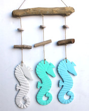 Triple Seahorse Mobile