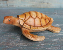 Wood Like Sea Turtle