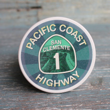 San Clement PCH Car Coaster
