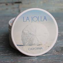 La Jolla Sand Dollar Car Coaster