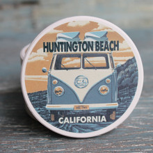 Huntington Beach VW Van Car Coaster